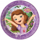 Disney Sofia , Sofia Paper Plate with 8 pcs 19.5 c