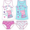 Peppa pig leotard + panties set 98-128 cm