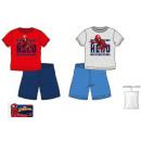 Spiderman kid short piżama 3-8 lat