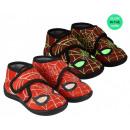 Spiderman In The Dark Glowing Indoor Shoes 23-28