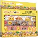 Emoji 65 pcs sticker set