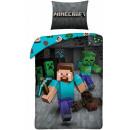 Minecraft bed linen 140 × 200 cm, 70 × 90 cm