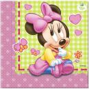 Tovagliolo Disney Minnie con 20 pz