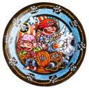 wholesale Party Items: Pirate, Pirate Paper Plate with 8 pcs 23 cm