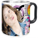 Stainless steel mug, Disney Soy Luna