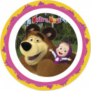Masha and the bear micro flat plate