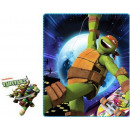 Polar Duvert Ninja Turtles 120 * 140cm