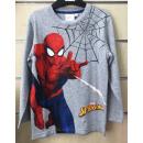 T-shirt manica lunga bambino Spiderman 2-7 anni