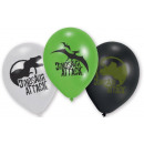 Dinosaur , Dinosaur ballonnen, ballonnen 6 stuks