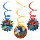 wholesale Shipping Material & Accessories: Blaze, Flame  Decoration Ribbon 6-Piece Set
