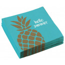 Pineapple, Pineapple Napkin 20 pieces