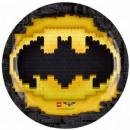 LEGO Batman Assiette en carton 8 pièces 23 cm