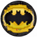 LEGO Batman carta Tavola 8 pezzi 23 cm