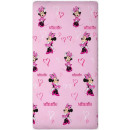 grossiste Articles sous Licence: Drap housse Disney Minnie 90 x 200 cm
