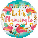 Flamingo, Flamingo Foil Balloons 43 cm