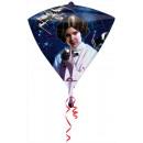 Star Wars Foil balloon with diamond shape 43 cm