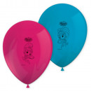 Shimmer and Shine balloon with balloons of 8 piece