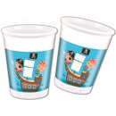 Pirate, Pirate Plastic cup 8 pcs 200 ml