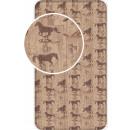 Großhandel Bettwäsche & Matratzen: Spannbettuch Lovas, Die Pferde 90 * 200 cm
