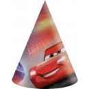 Disney Cars , Verdák Parti Hut, csákó 6 db