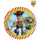 DisneyToy Story , War of Games Paper plate 8 pcs