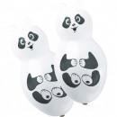 Panda balloon, 4 balloons