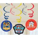 Paw Patrol , Paw Patrol Ribbon Decoration 6pcs