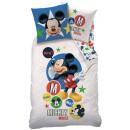 Biancheria Disney Mickey 140 x 200 cm, 60 x 80 cm