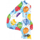 Giant number Foil balloons 91 * 60 cm