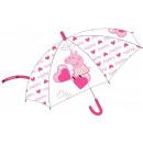 Peppa malac gyerek félautomata esernyő Ø68 cm