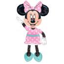 DisneyMinnie , Balon foliowy AirWalker 137 cm