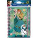 Notebook Disney frozen , Ice Magic A5