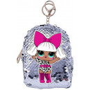 LOL Surprise sequined keychain