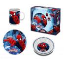 Children's porcelain dinnerware Spiderman, Spi