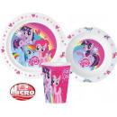 Tableware, micro plastic set for My Little Pony