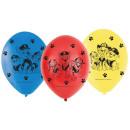 Paw Patrol , Paw Patrol Balloon, Balloons 6 Pieces