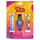 Digital watch + bracelet set Trolls , Trolls