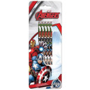 wholesale Gifts & Stationery: HB graphite  pencils 5 pieces Avengers, Avengers