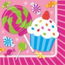 Cupcake, muffin napkin 16 pcs 24.7 * 24.7 cm