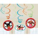 groothandel Speelgoed: Bing Ribbon decoratie set van 6 stuks