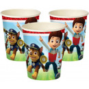 Paw Patrol, Paw Patrol paper cups 8 pieces