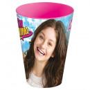 Disney Soy Luna glass, plastic 430 ml