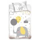 Biancheria da letto per bambini Elephant 100 × 135