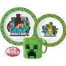 Großhandel Haushalt & Küche: Minecraft Geschirr, Mikroplastik-Set