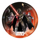 wholesale Party Items: Star Wars Lightsaber, Paper plate 8 pcs 23 cm
