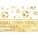 Football Gold, Soccer Table Cover 120 * 180 cm