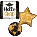 Graduation, Graduation Foil Balloons 86 cm