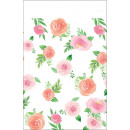Floral Baby Table Cover 137 * 259 cm