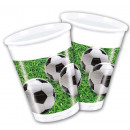 wholesale Gifts & Stationery: Focis Plastic cup 8 pieces 200 ml