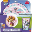 wholesale Licensed Products: Paw Patrol tableware, micro plastic set